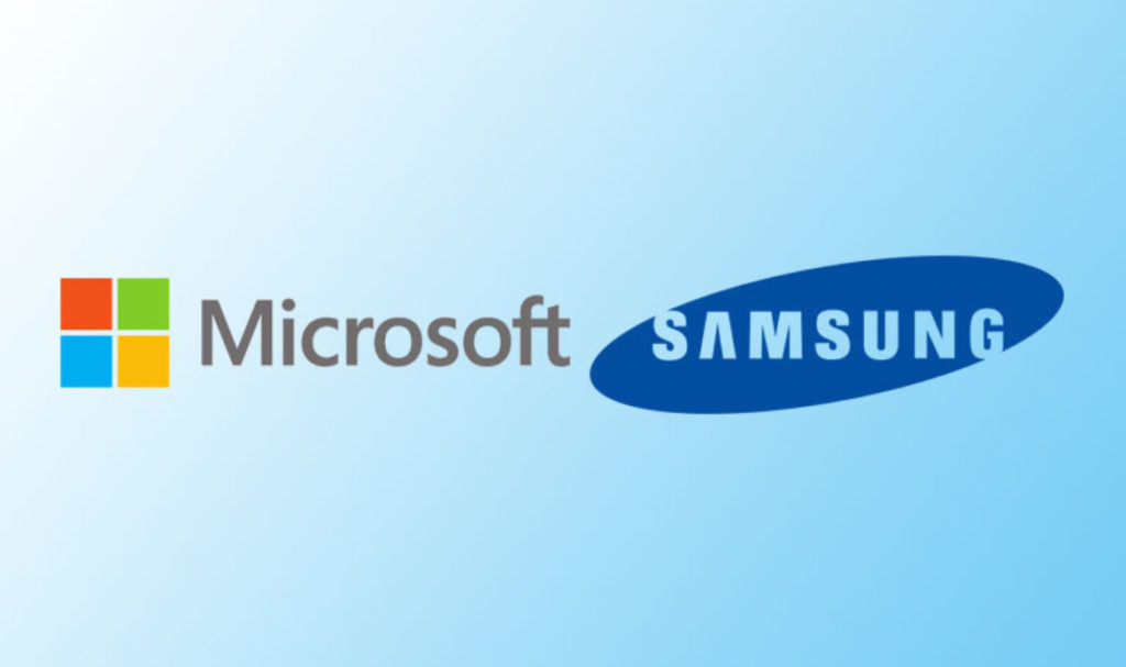 microsoft and samsung-top