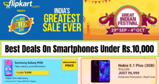 Best Smartphones Deal Under Rs.10,000