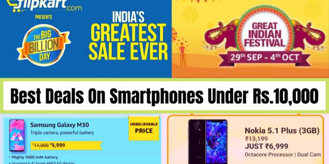 Best Smartphones Deal Under Rs.10,000