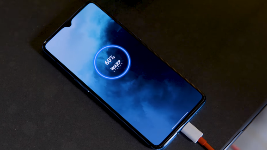 OnePlus 7T Charging