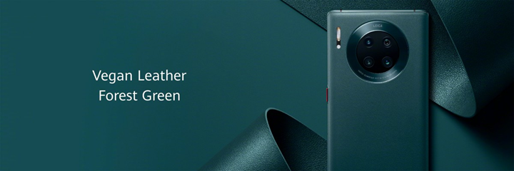Mate 30 Pro leather green