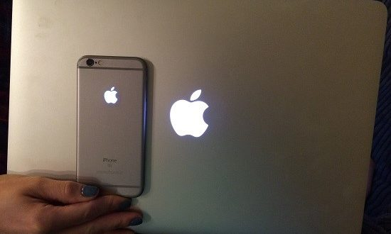 Apple Logo as a LED notification light