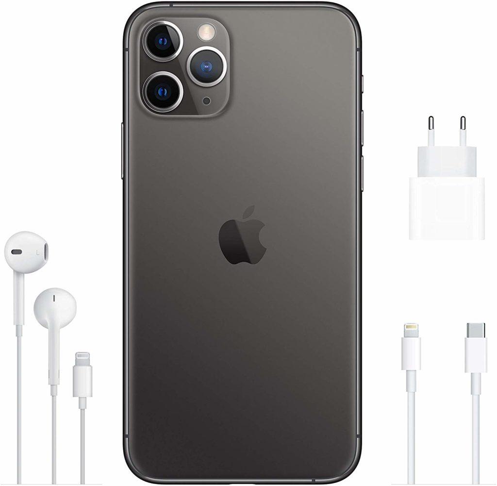 Black, Apple iPhone 11 Pro, Back,