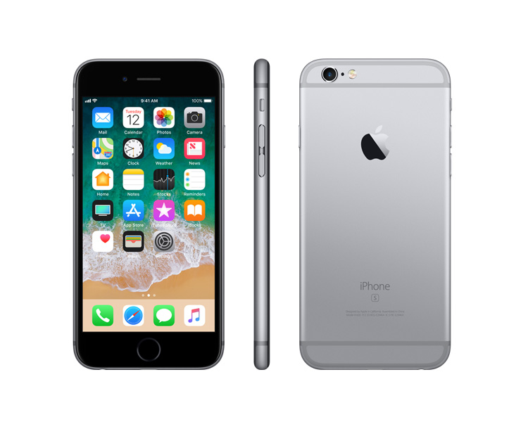 Apple iPhone 6s, Silver, Complete