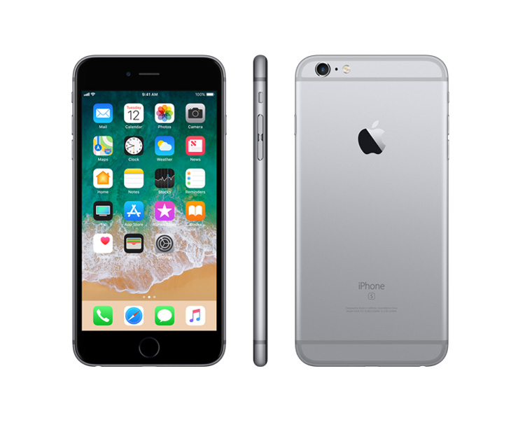 Apple iPhone 6s Plus, Silver, Complete