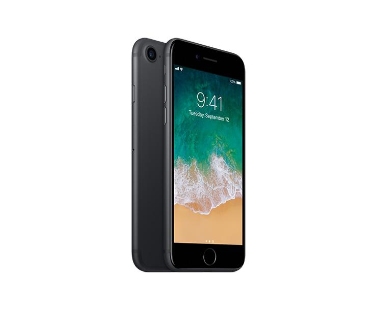 Apple iPhone 7, Black, Side
