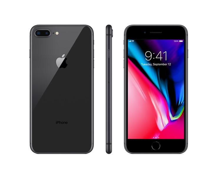 Apple iPhone 8 Plus, Black, Complete