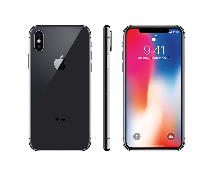 Apple iPhone X, Black, Complete
