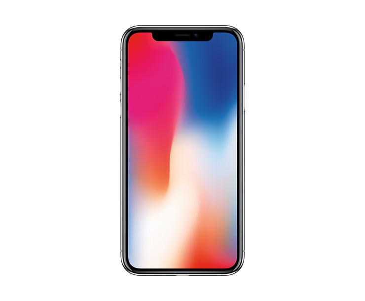 Apple iPhone X, Black, Front