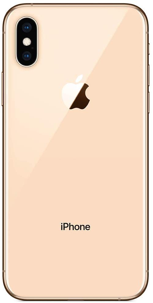 Apple iPhone XS, Gold, Rear