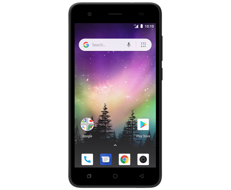 Coolpad Legacy Go, Black, Front