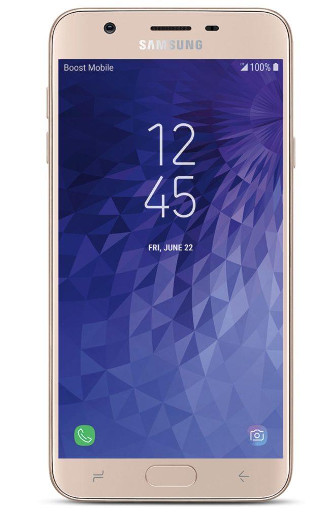 Virgin Mobile Phones, Samsung J7 Refine, Gold, Front