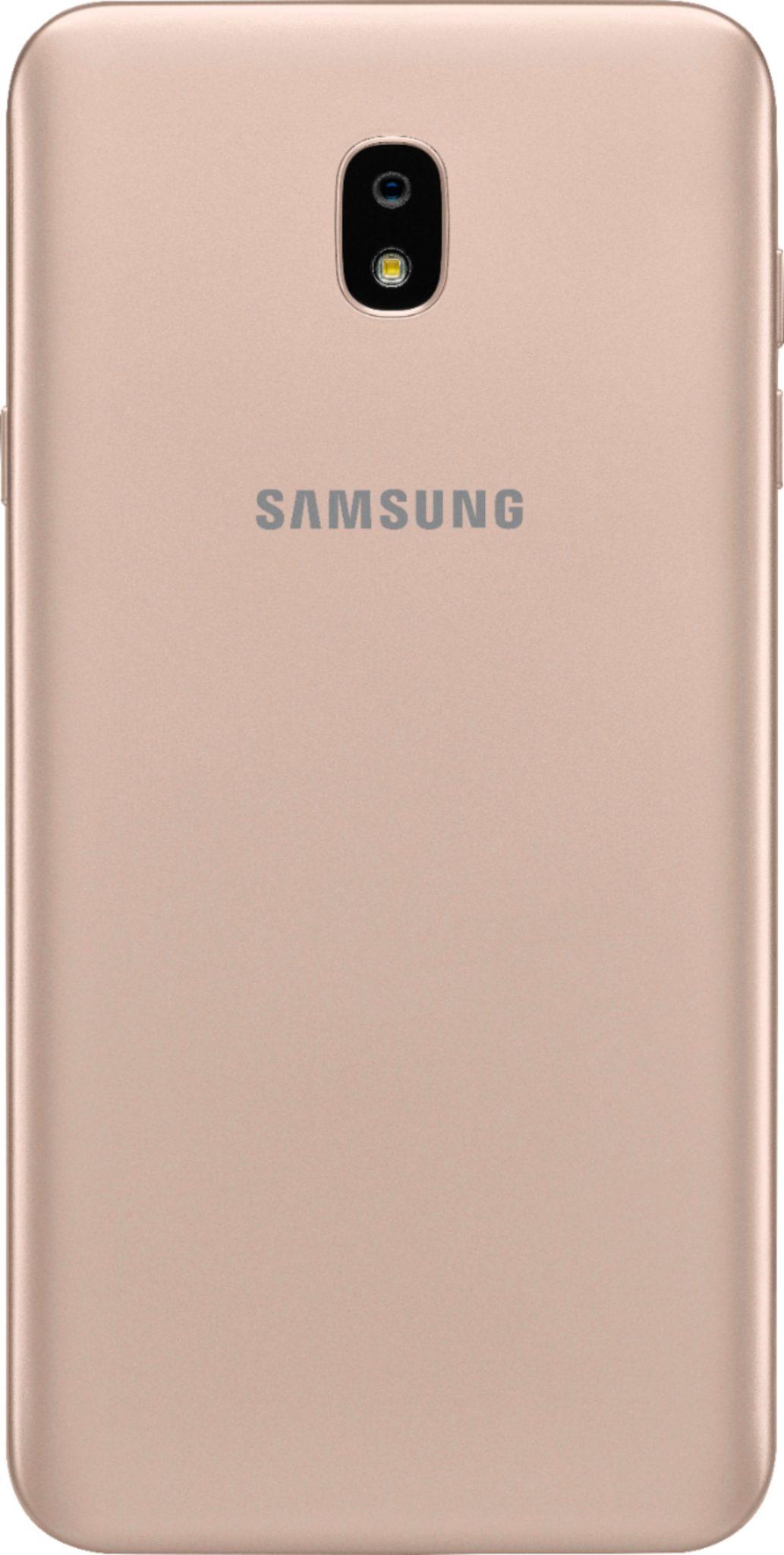 Virgin Mobile Phones, Samsung J7 Refine, Gold, Back