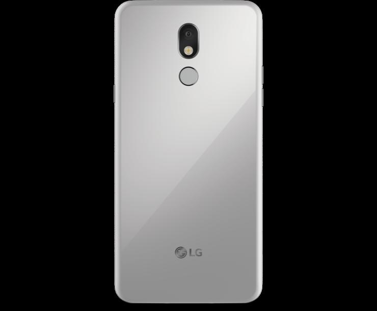 Virgin Mobile Phones, LG Stylo 5, Silver, Back