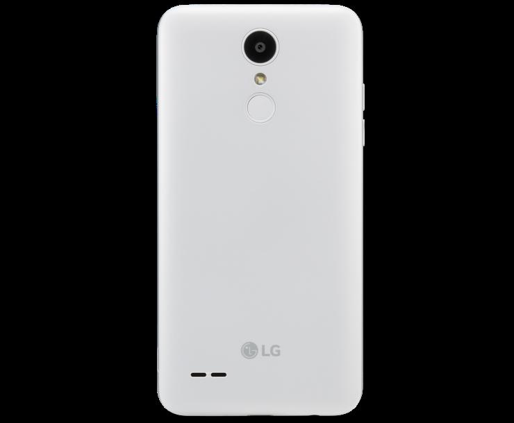 LG Tribute Empire, White, Back