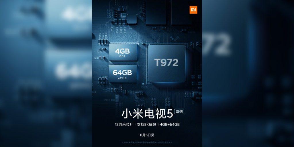 mi tv 5_processor