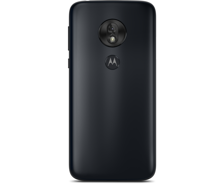 Virgin Mobile Phones, Moto G7 Play, Black, Back
