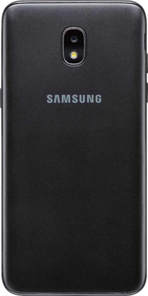Virgin Mobile Phones, Samsung J3 Achieve, Black, Back