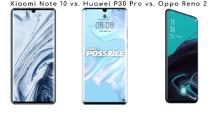 Mi Note 10 vs. Huawei P30 Pro vs. Oppo Reno 2_featured
