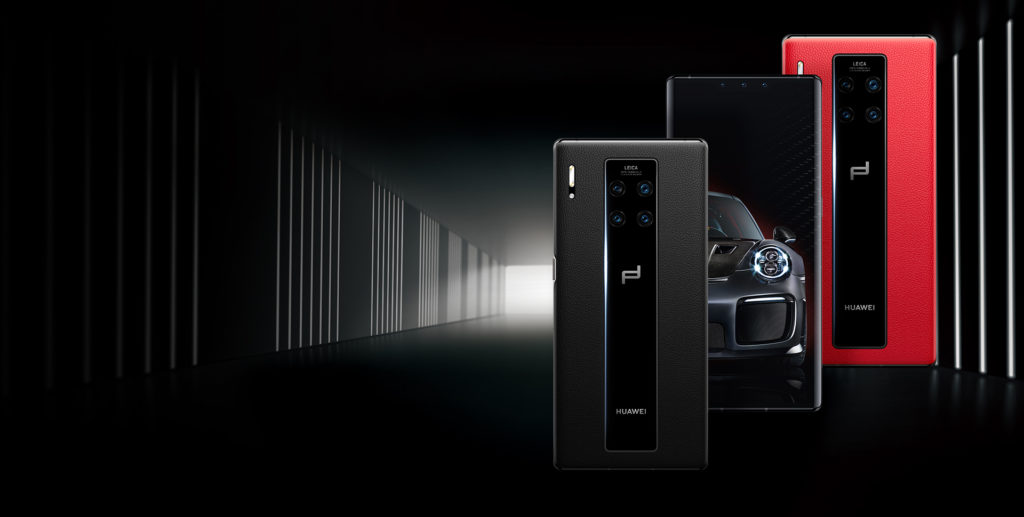 Huawei Mate 30 RS Porsche Design_top