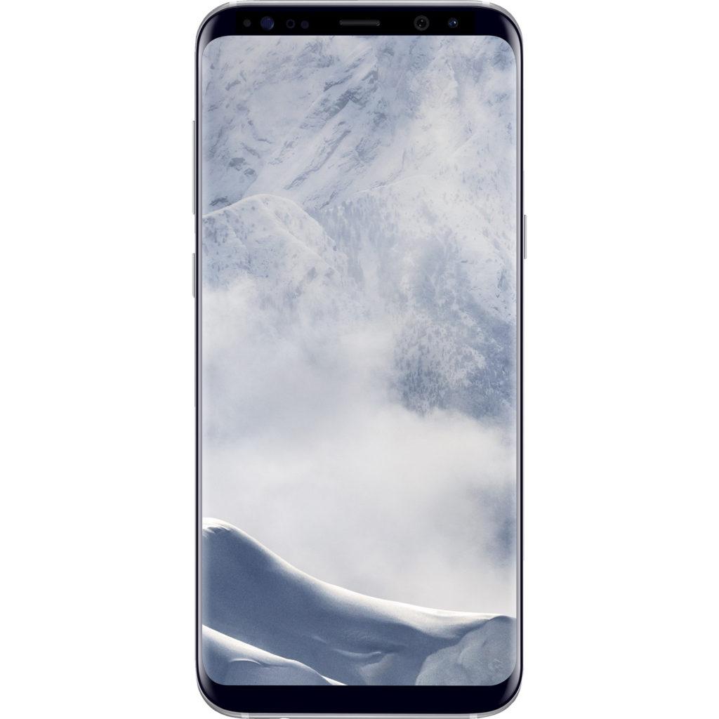 virgin mobile phones, Samsung Galaxy S8, Front, Black