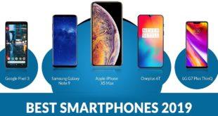 Best smartphones in 2019, featured